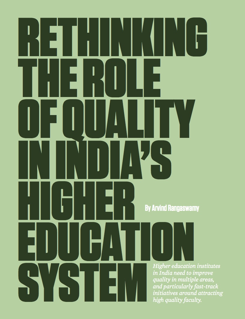 Higher education in India